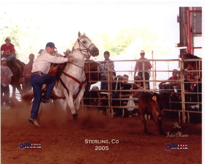 Ty Watson roping on Tater Cord.  One of our horses by Easy Cord.