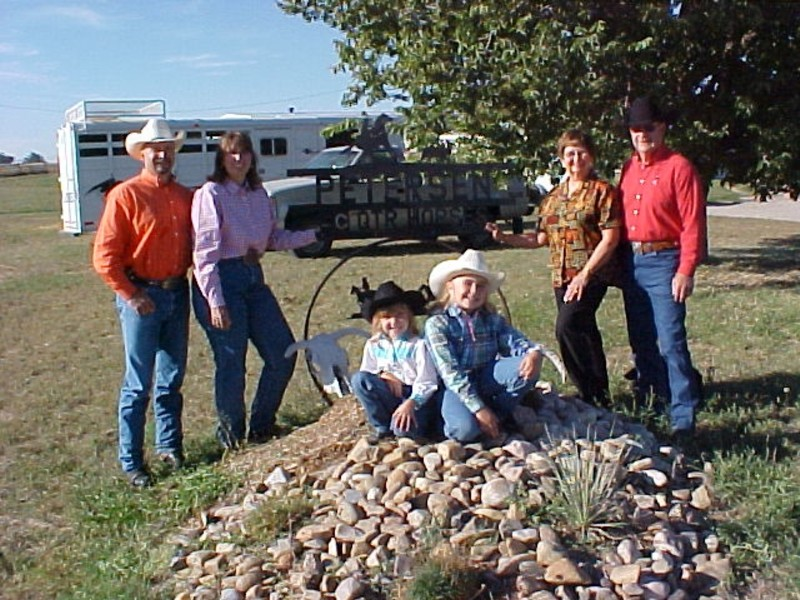 Travis & Karen, Janet & Loren,Shaley and Lauren Lynn welcome you to our ranch.